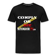 T-Shirts ~ Men's Premium T-Shirt ~ Up to 5XL- Comply or Die