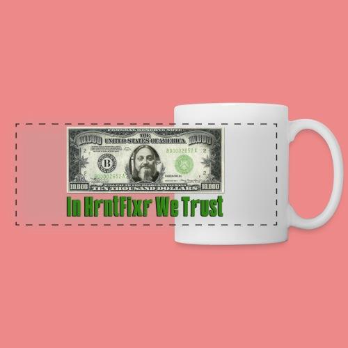 Trust Hrntfixr with your coffee - Panoramic Mug