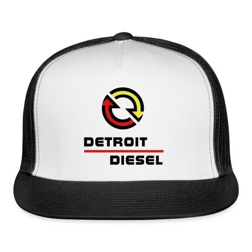 Detroit Diesel Trucker Hat - Trucker Cap