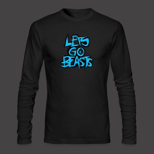 Let's Go Beast - Men's Long Sleeve T-Shirt by Next Level