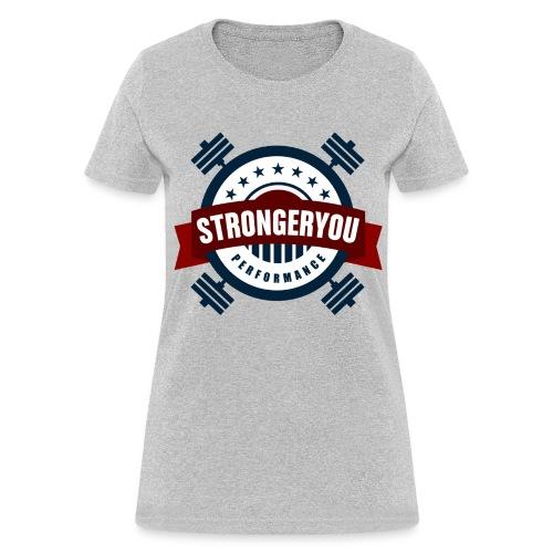 Women's StrongerYou Performance Team Tee - Grey - Women's T-Shirt