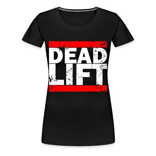 Women's Deadlift Logo Tee  - Women's Premium T-Shirt