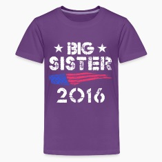 Big Sister 2016 Kids' Shirts