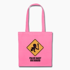 Paleo Baby On Board Tote Bag