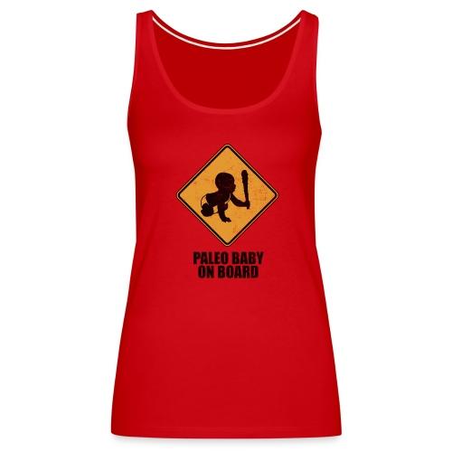 Paleo Baby On Board T-Shirt - Women's Premium Tank Top