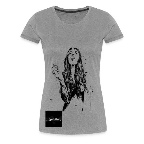 Legal Stoner - Women's Tee (Pic of Woman)  - Women's Premium T-Shirt