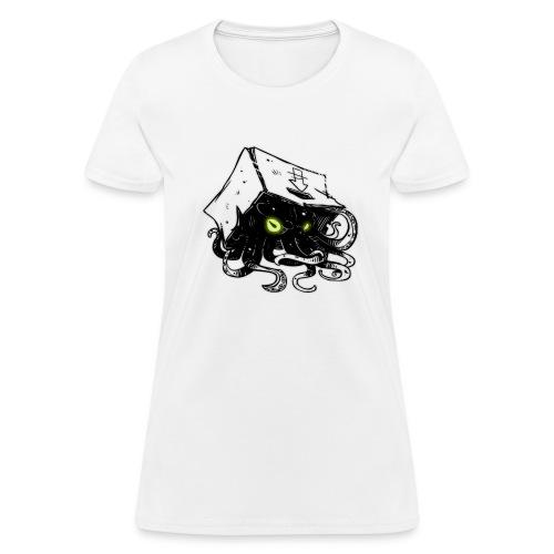 Squid In A Box Logo - Womens Tee - Women's T-Shirt