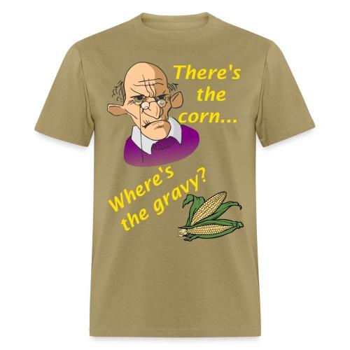 Men's Where's The Gravy? T-Shirt - Men's T-Shirt