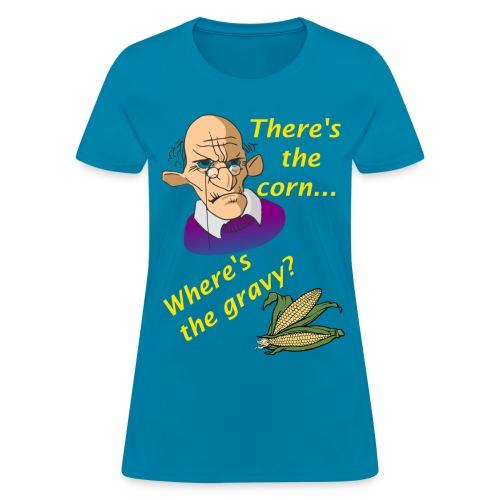 Women's Where's The Gravy? t-Shirt - Women's T-Shirt