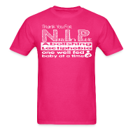 T-Shirts ~ Men's T-Shirt ~ Thank you for N.I.P.