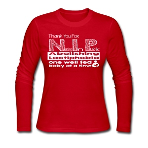 Thank you for N.I.P. - Women's Long Sleeve Jersey T-Shirt