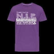 T-Shirts ~ Men's Premium T-Shirt ~ Thank you for N.I.P.