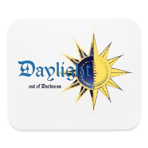 Daylight out of Darkness Mouse Pad - Mouse pad Horizontal