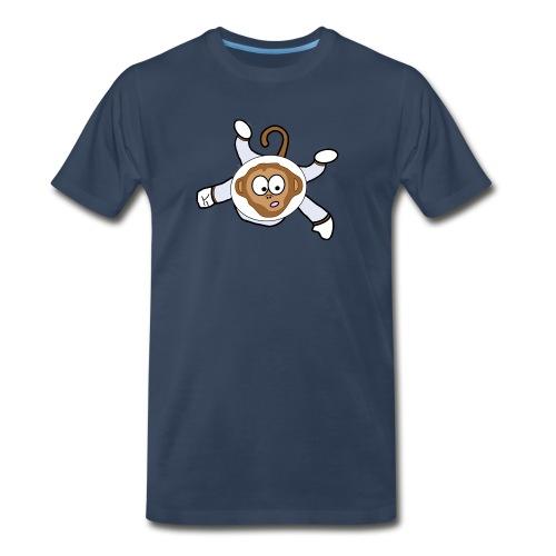 Monkey Dark Blue - Men - Men's Premium T-Shirt