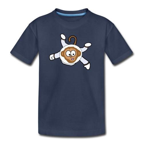 Monkey Dark Blue - Kids - Kids' Premium T-Shirt