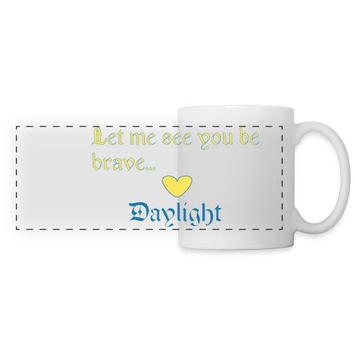 Daylight out of Darkness Coffee Mug. - Panoramic Mug