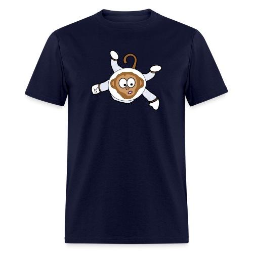 Monkey Dark Blue - Men - Men's T-Shirt