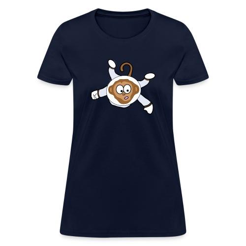 Monkey Dark Blue - Women - Women's T-Shirt
