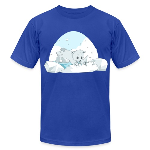 Polar Bear - Men's Fine Jersey T-Shirt