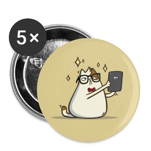 Friday Cat №4 - Large Buttons
