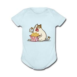 Friday Cat №5 - Short Sleeve Baby Bodysuit
