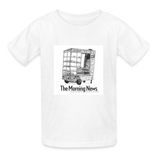 Kids' Coffee Cart T-Shirt - Kids' T-Shirt
