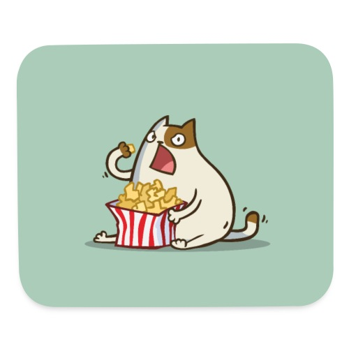 Friday Cat №5 - Mouse pad Horizontal