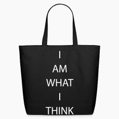 I AM WHAT I THINK Bags & backpacks