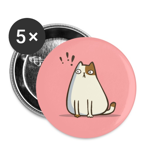 Friday Cat №6 - Large Buttons