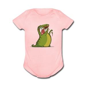 Friday Cat №7 - Short Sleeve Baby Bodysuit