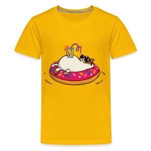 Friday Cat №8 - Kids' Premium T-Shirt
