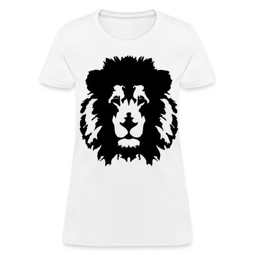 Lion Face T-Shirt (Women) - Women's T-Shirt