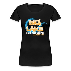 Women's Big Lake Half Tee 2015 - Women's Premium T-Shirt