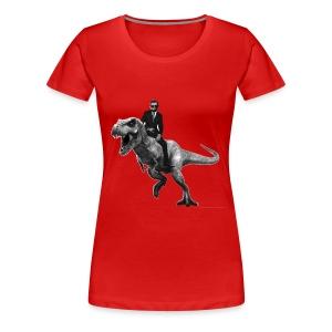 Jurrasic Abe - Women's Premium T-Shirt
