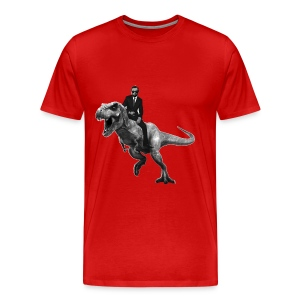 Jurrasic Abe - Men's Premium T-Shirt