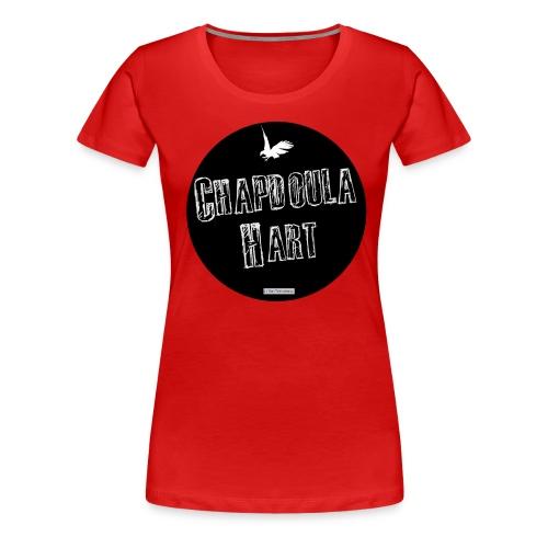 Chapdoula Hart aigle-cercle - T-shirt femme - T-shirt premium pour femmes
