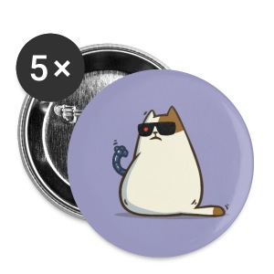 Friday Cat №11 - Small Buttons
