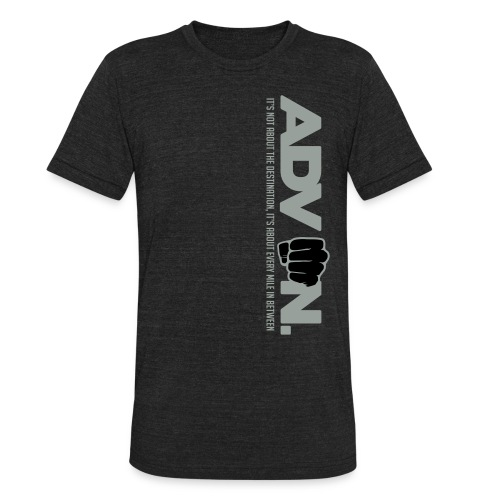ADV On Every Mile Vert T - Unisex Tri-Blend T-Shirt