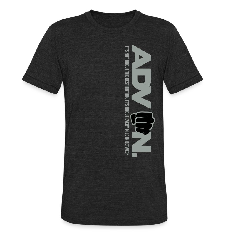 ADV On Every Mile Vert T - Unisex Tri-Blend T-Shirt by American Apparel