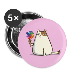 Friday Cat №10 - Large Buttons