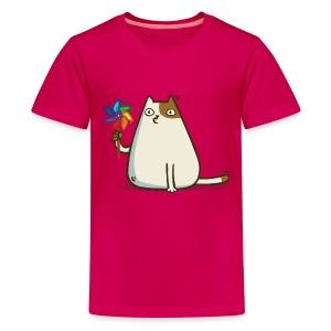 Friday Cat №10 - Kids' Premium T-Shirt