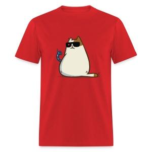 Friday Cat №11 - Men's T-Shirt