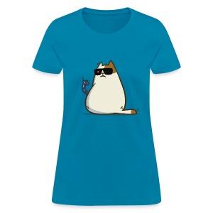 Friday Cat №11 - Women's T-Shirt