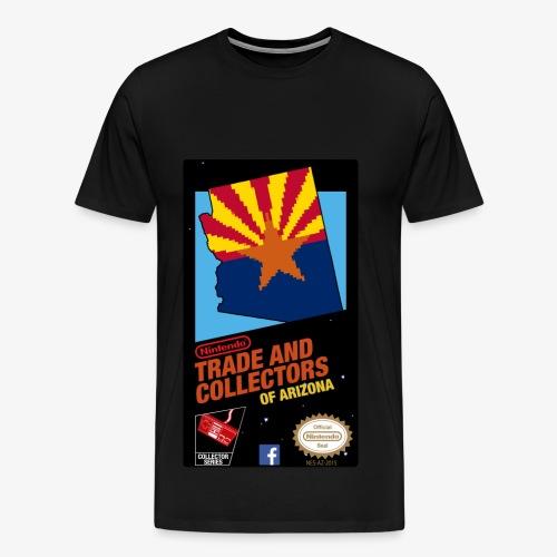 Men's Nintendo Trade and Collectors of Arizona Shirt - Lesser Quality - Men's Premium T-Shirt