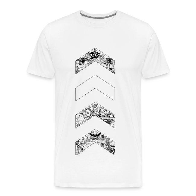 ot5 chevron by zaynscremebrulee mens shirt