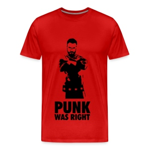 PUNK WAS RIGHT - Men's Premium T-Shirt