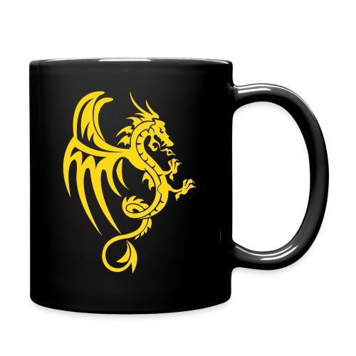 Yellow Dragon Mug - Full Color Mug