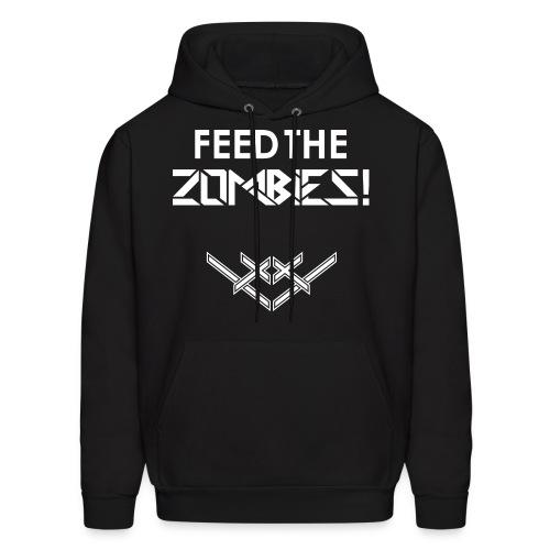 Feed the Zombies Hoodie - Men's Hoodie