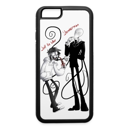 JTK SLENDERMAN iphone 6 case - iPhone 6/6s Rubber Case