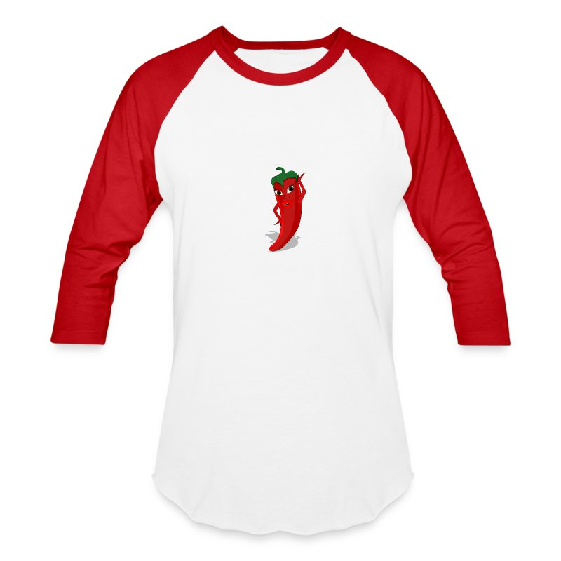 Red Pepper Diva - Baseball T-Shirt